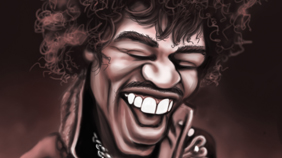 Personalities - Mick Hollinworth Caricatures
